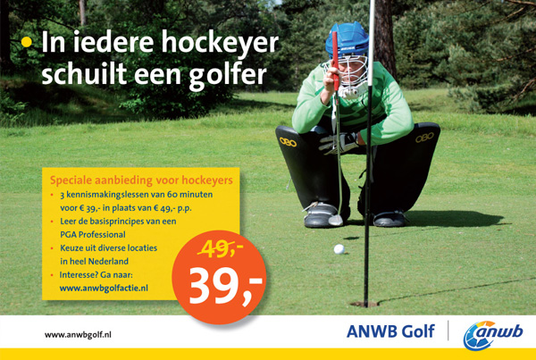 Fotografie en communicatie ANWB Golf