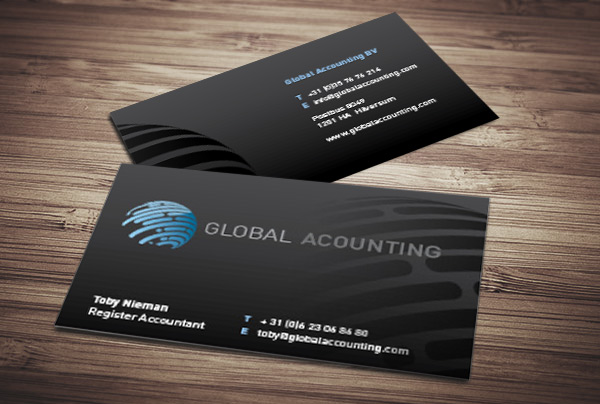 Visuele identiteit Global Accounting