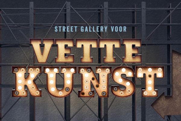 Pitch: Streetgallery voor vette kunst